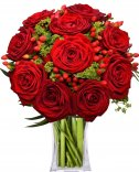 Red roses: Flower delivery