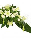 Funeral bouquet for laying